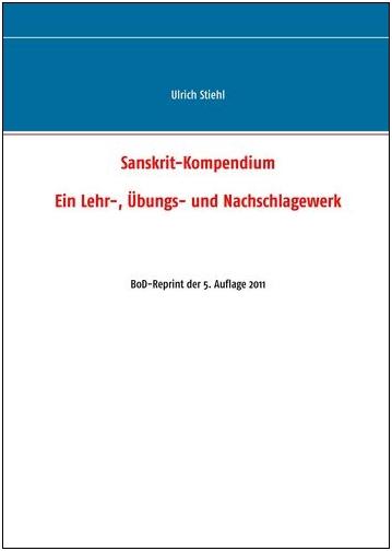 Sanskrit: Einführung, Lehrbuch, Handbuch, Wörterbuch